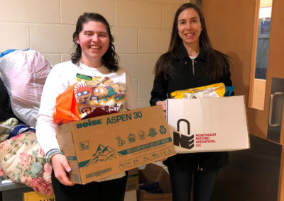 April---Ali-Geiger-Drops-Off-Pet-Food-to-MSPCA-at-Nevins-Farm
